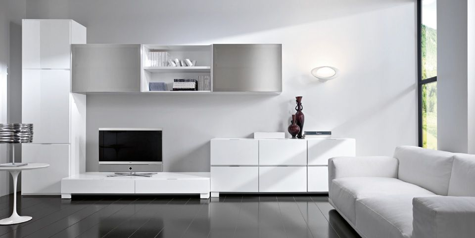 All White Living Room Ideas