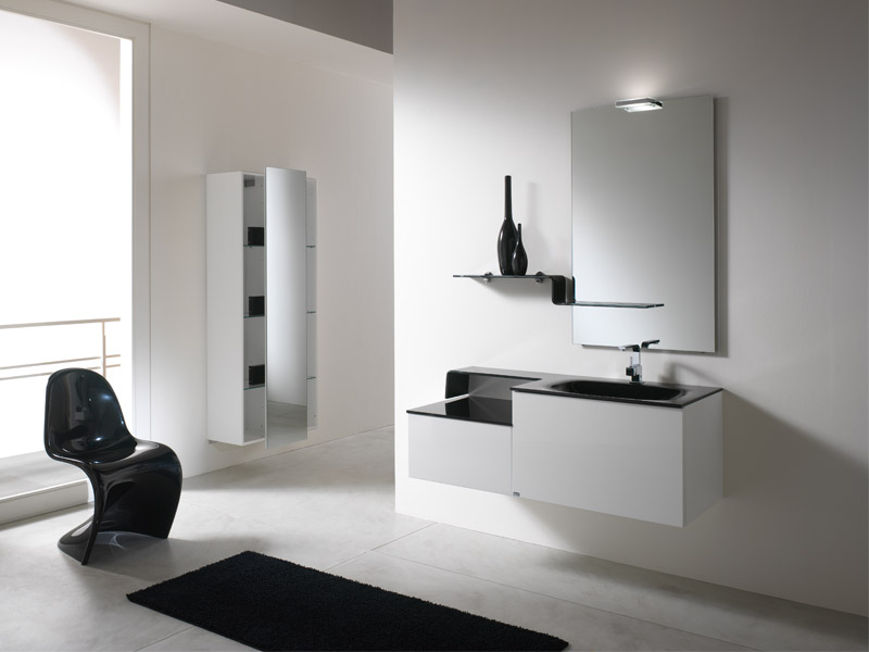 Contemporary Bathroom Vanities Cabinets - Contemporary bathroom furniture cabinets