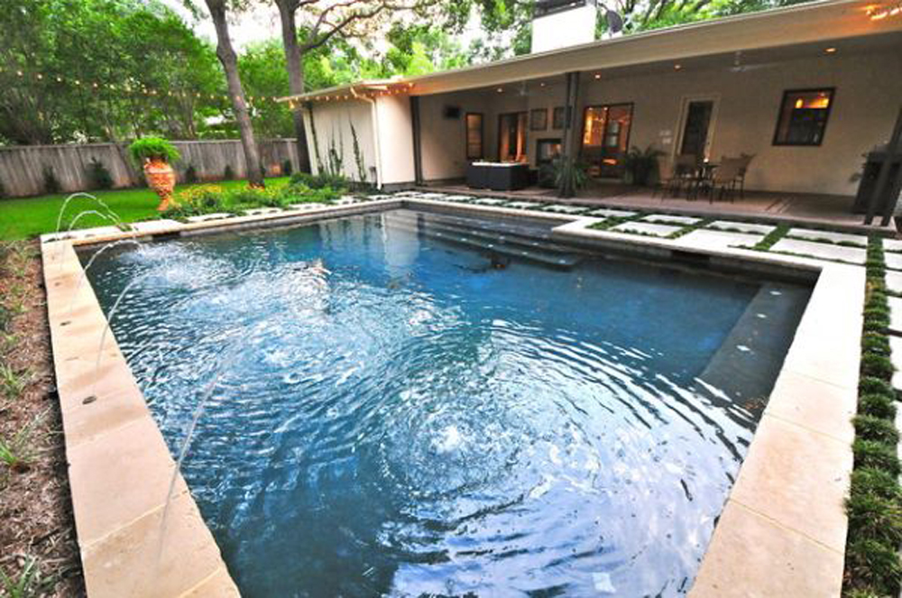 25 best ideas for backyard pools for Swimming pool design layout