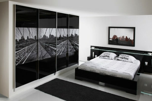 black-and-white-bedroom-interior-design-