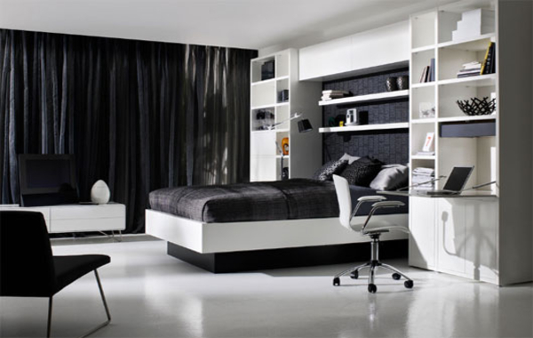 black-and-white-master-bedroom-
