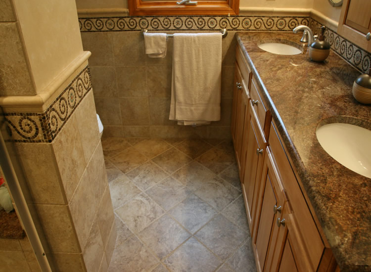 Captivating Small Bathroom Floor Tile Ideas Ebeh