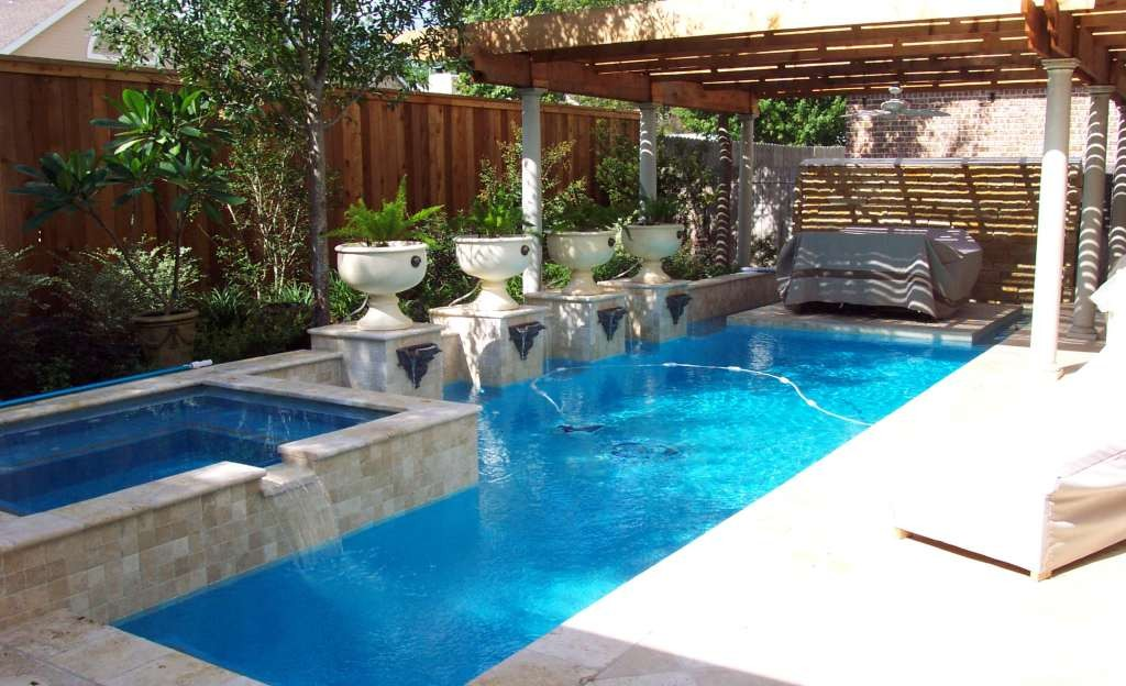 20 amazing small backyard designs with swimming pool - Swimming pools for small backyards ...