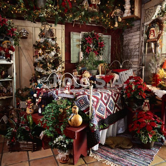 christmas bedroom christmasbedroomdecor - Christmas Room Decor