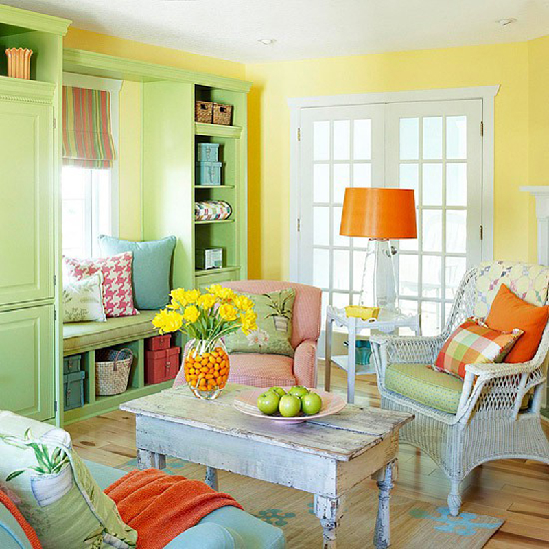 Colorful Living Room 25 colorful living room design ideas