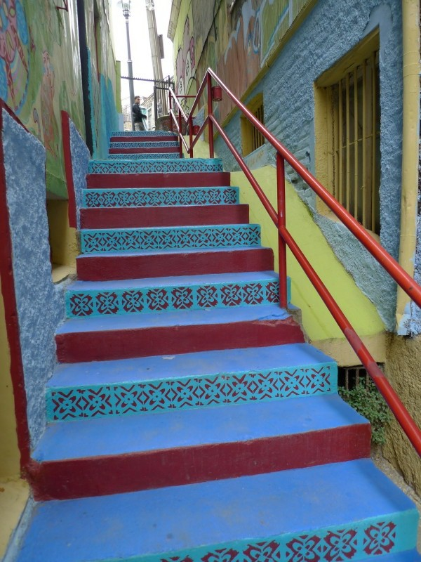 20 Awesome Colorful Stair Design Ideas