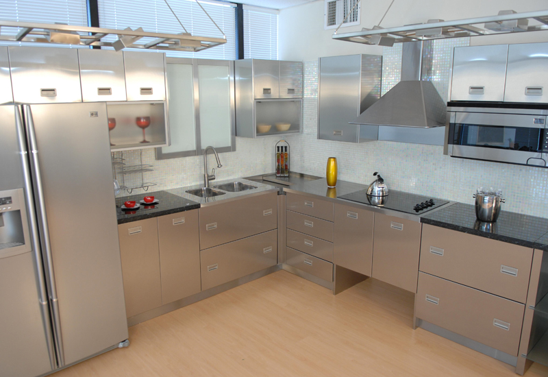 stainless steel commercial kitchen cabinets 21 awesome stainless steel kitchen design ideas 26618