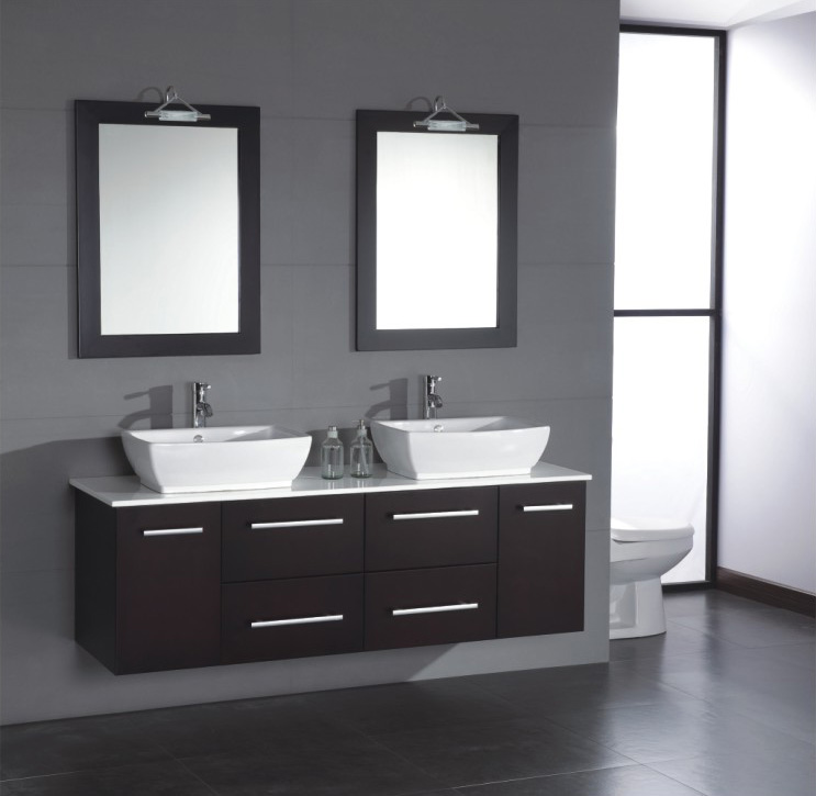 contemporary bathroom vanities and cabinets - Modern Bathroom Cabinets Storage