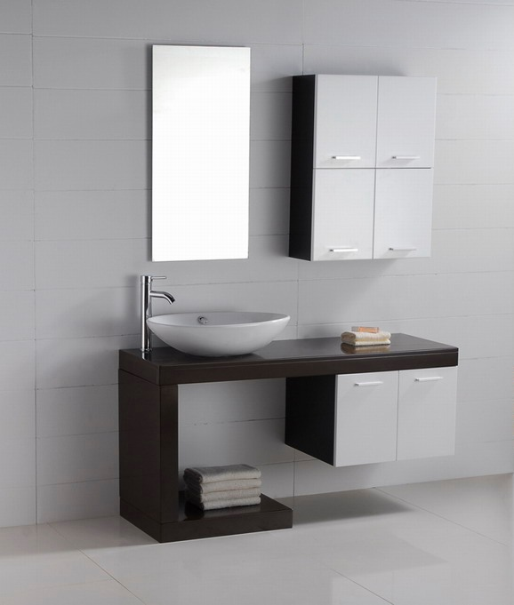 Modern Bathroom Vanity Without Top : Contemporary bathroom vanities cabinets
