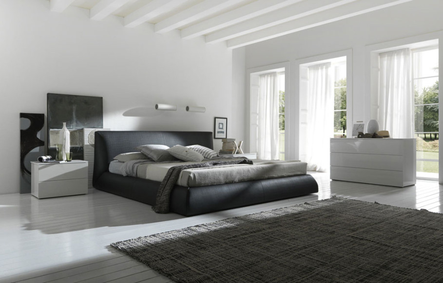 contemporary-leather-upholstered-bed-design