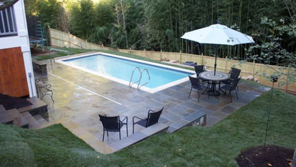 Cool Backyard Pools Small Design Ideas