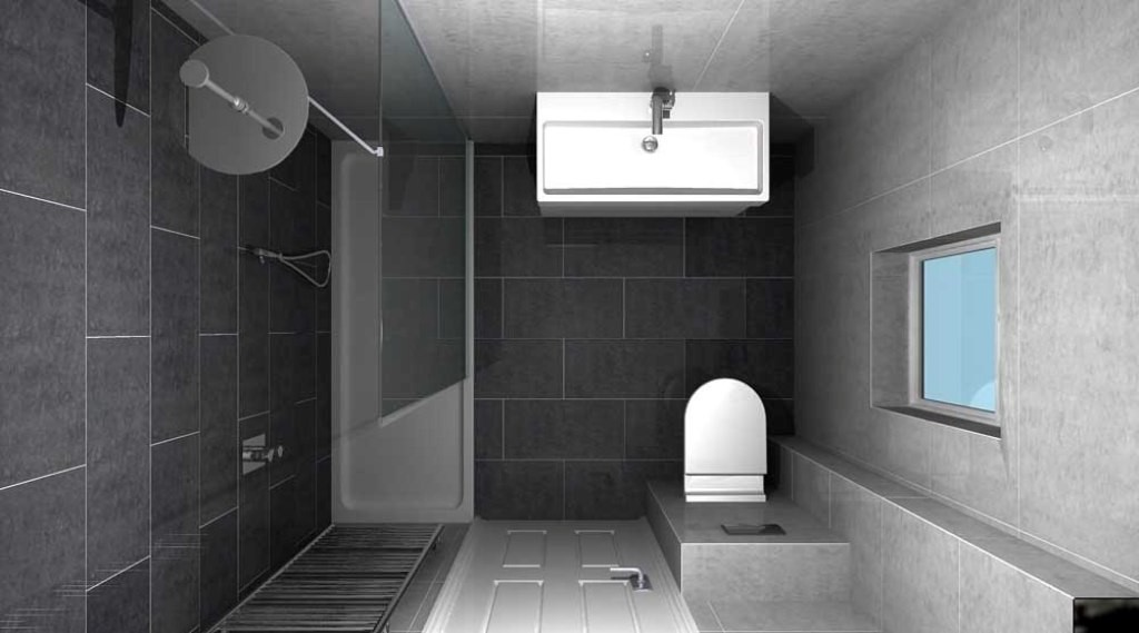 21 unique modern bathroom shower design ideas for Small bathroom designs uk