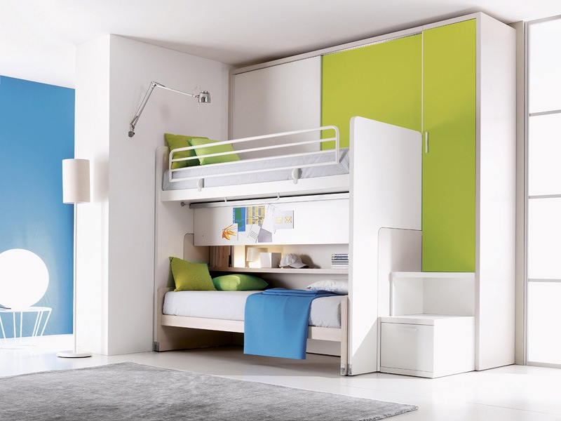 Delightful To Space Saving Kid Bedroom