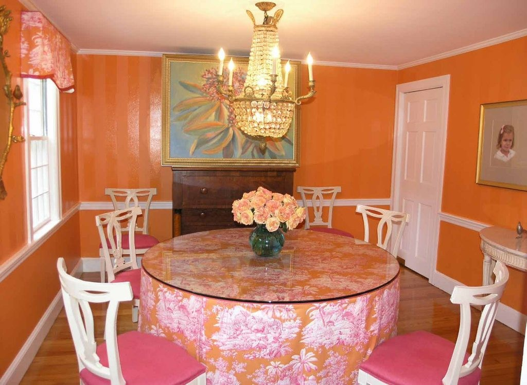 35 dining room decorating ideas inspiration for Dining room colour inspiration