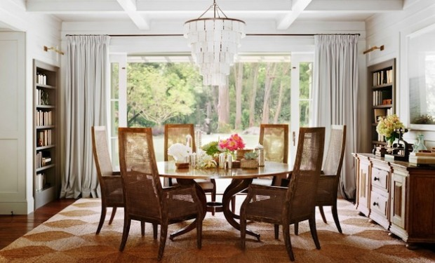 25 Elegant Dining Table Centerpiece Ideas, Round Table Centerpieces For Home