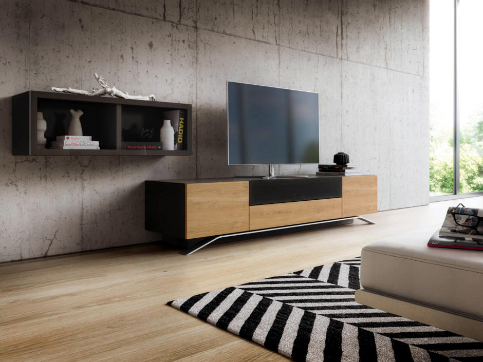 21 amazing living room designs with concrete wall for Room 21 design