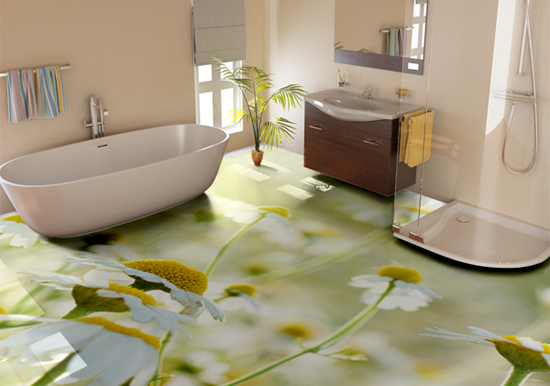 floral-3D-bathroom-floor