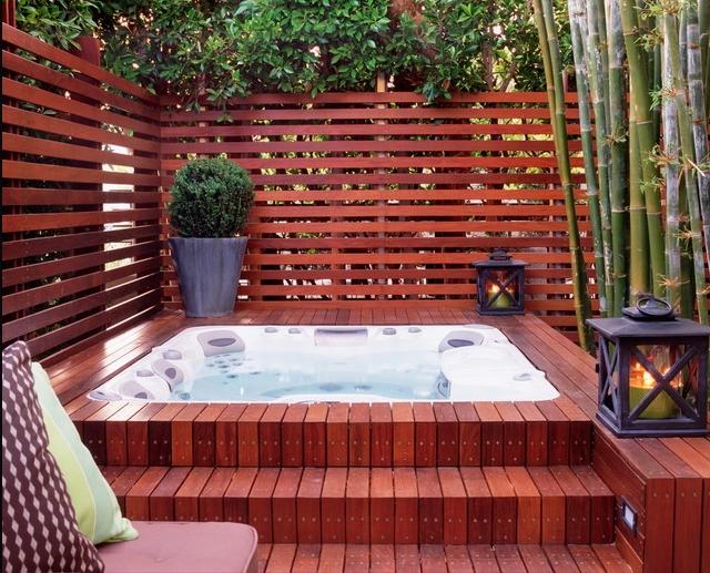 Hot Tub Pool Area Stundumplings