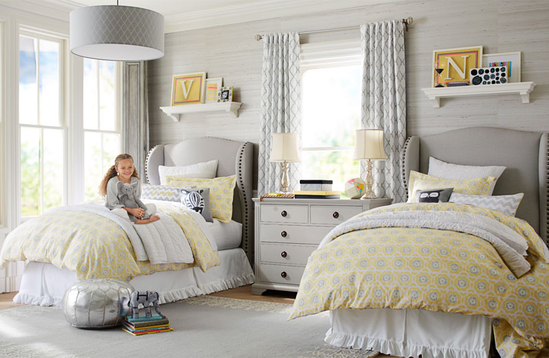 25 awesome shared bedroom ideas for kids for Unisex bedroom inspiration