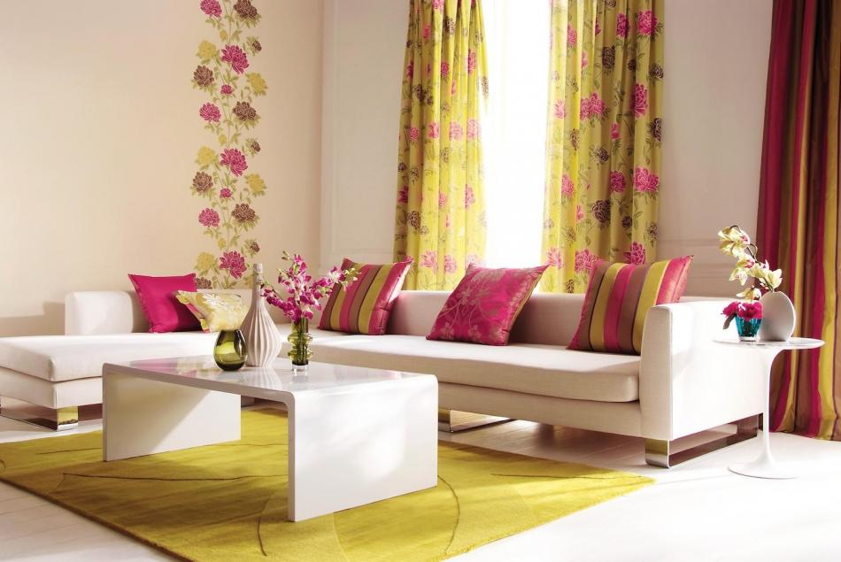 18 modern living room curtains design ideas - Living room curtain ideas ...