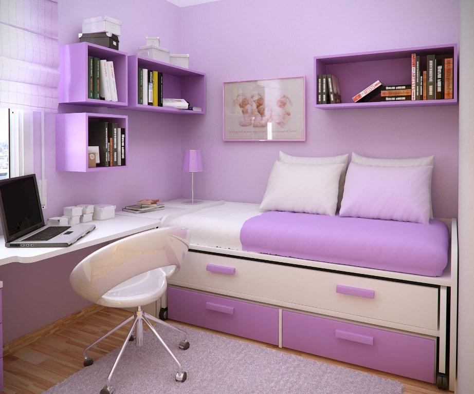 inspiration-decoration-eye-catching-purple-wall-painted