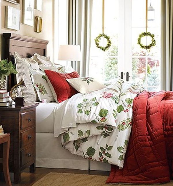 20 Christmas Bedroom Decoration Ideas