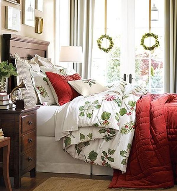-inspiring-christmas-bedroom-decoration