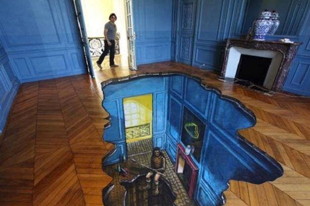 17 Beautiful 3D Flooring Designs Ideas