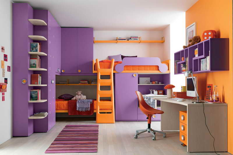 Kid Room Design Designs With Wall Shelves