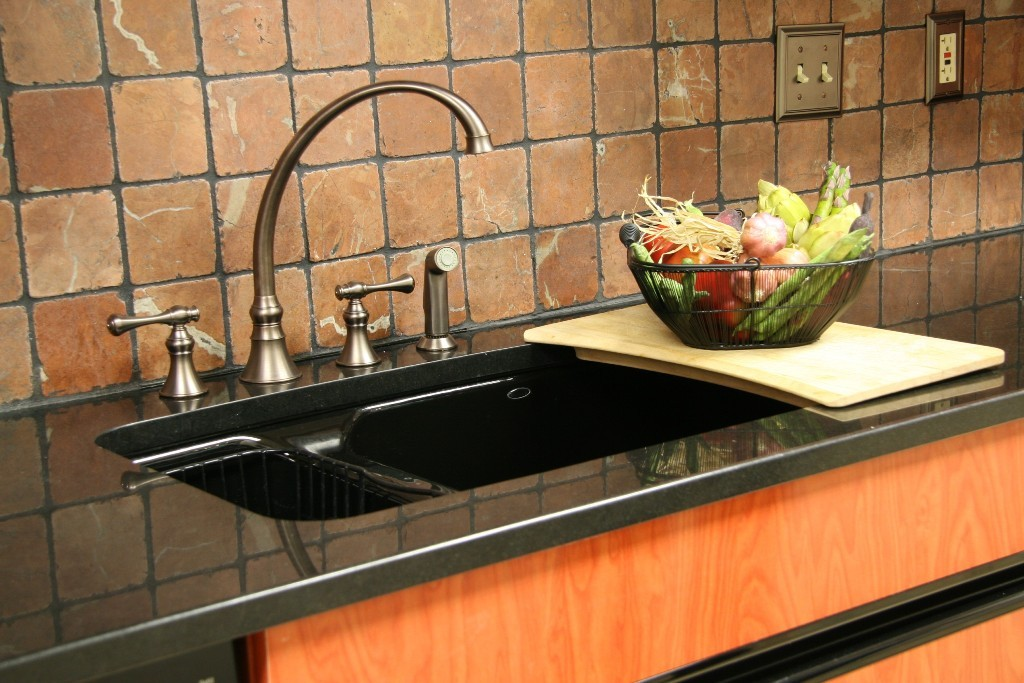 Kitchen Sink Backsplash Intended For Designs