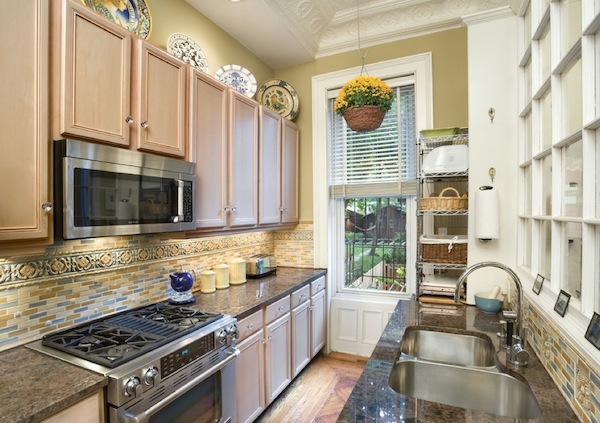 Kitchen Galley Stone Ideas Kitchens Small Gallary