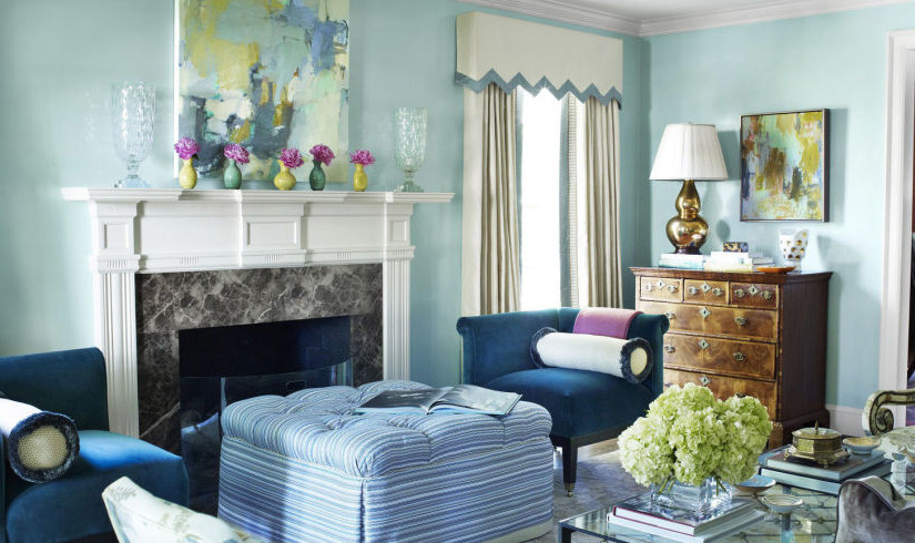 25 Colorful Living Room Design Ideas