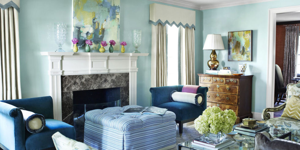 25 Colorful Living Room Design Ideas