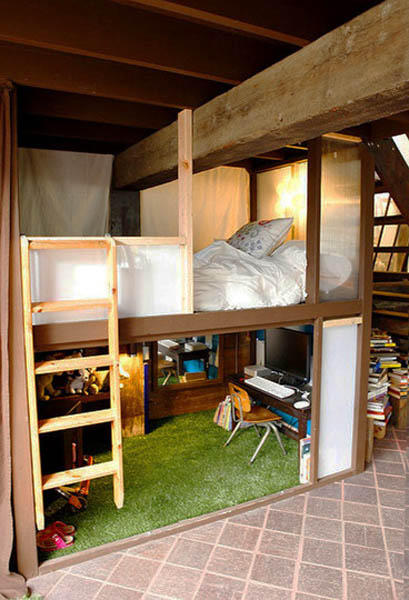 loft-beds-loft-designs ideas-small-rooms-