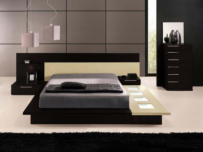 Genial Modern Bed. Modern Bedroom Furniture Style