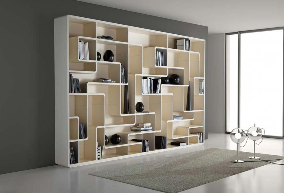 outstanding-white-large-modular-bookcase-design