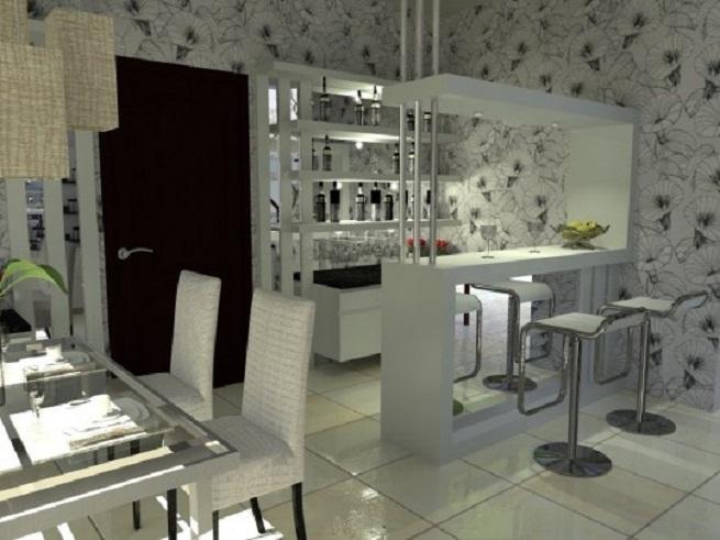 Room Mini Bar Furniture Design Living
