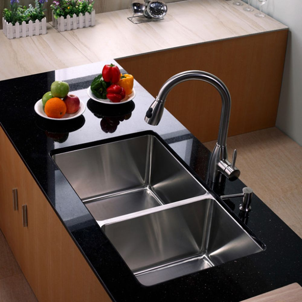 20 gorgeous kitchen sink ideas. Black Bedroom Furniture Sets. Home Design Ideas
