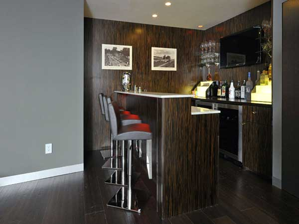 20 mini bar designs for your home for Mini bar design for small house