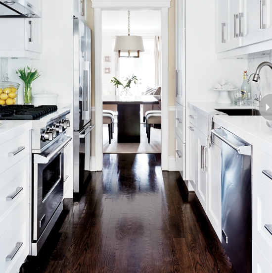 Galley Kitchen Flooring Ideas: 21 Best Small Galley Kitchen Ideas