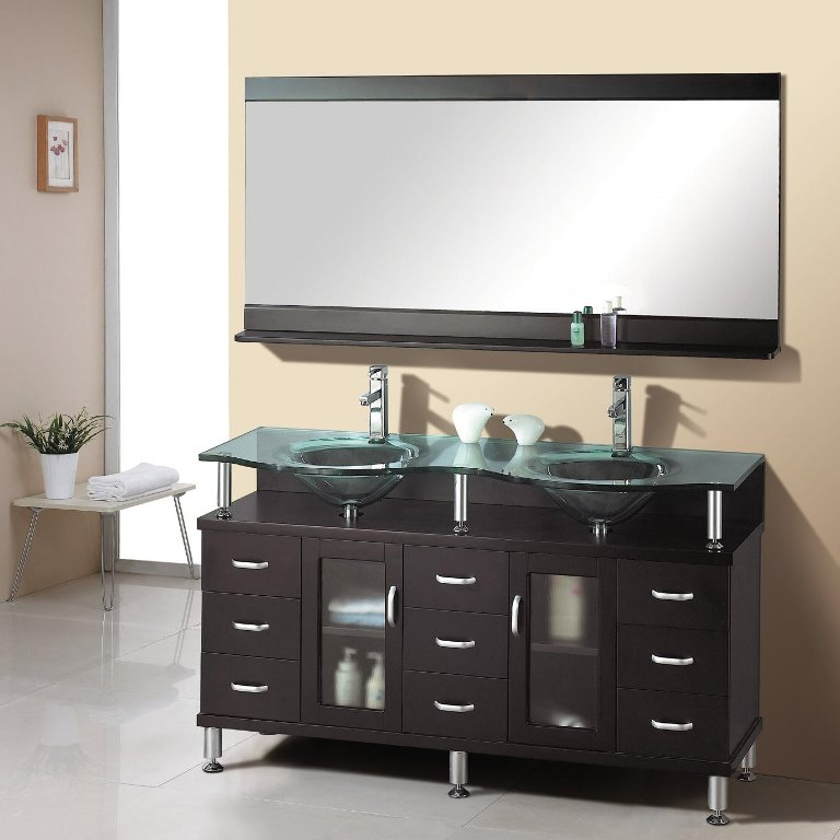 spacious-modern-wooden-bathroom-vanity-cabinet-set