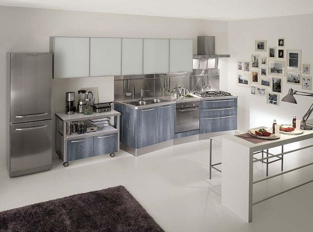 stainless steel kitchen cabinets 21 awesome stainless steel kitchen design ideas 5722
