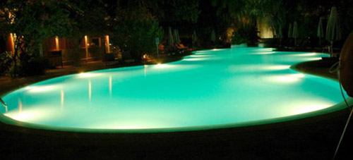 21 Beautiful Swimming Pool Lighting Ideas