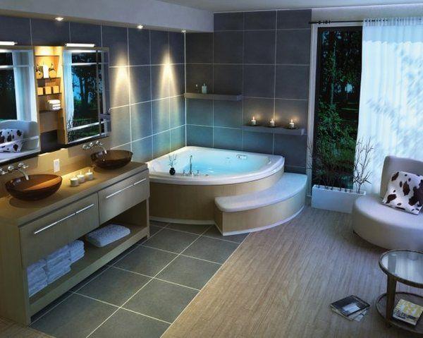 traditional-beautiful-bathroom-design-corner-bath-tub