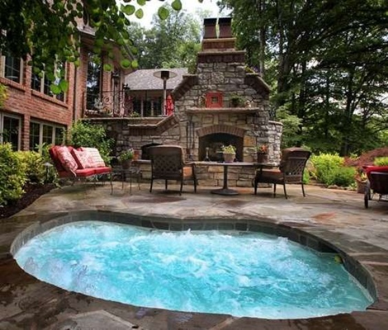 Unbelievable Garden Hot Tub Designs
