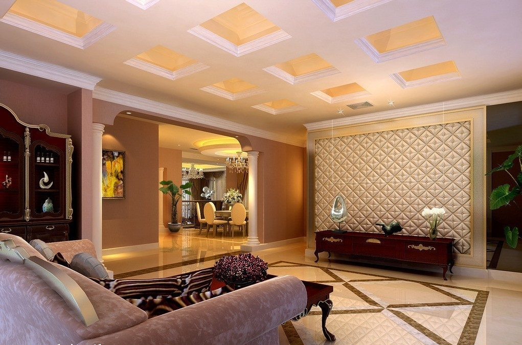 17 amazing pop ceiling design for living room for Room design roof