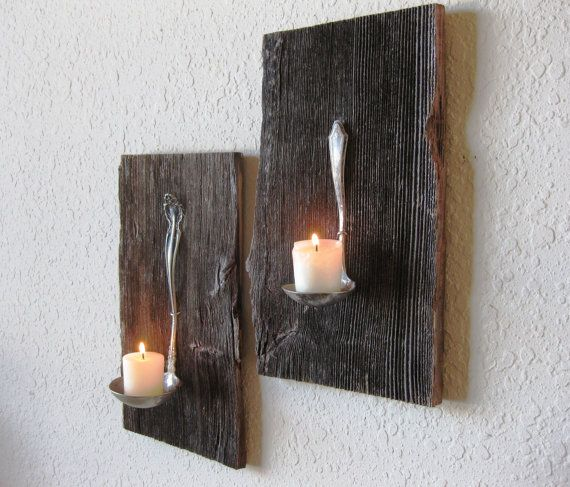 17 Easy Wood Candle Holders This Season