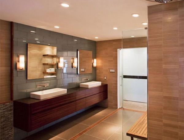 wooden bathh