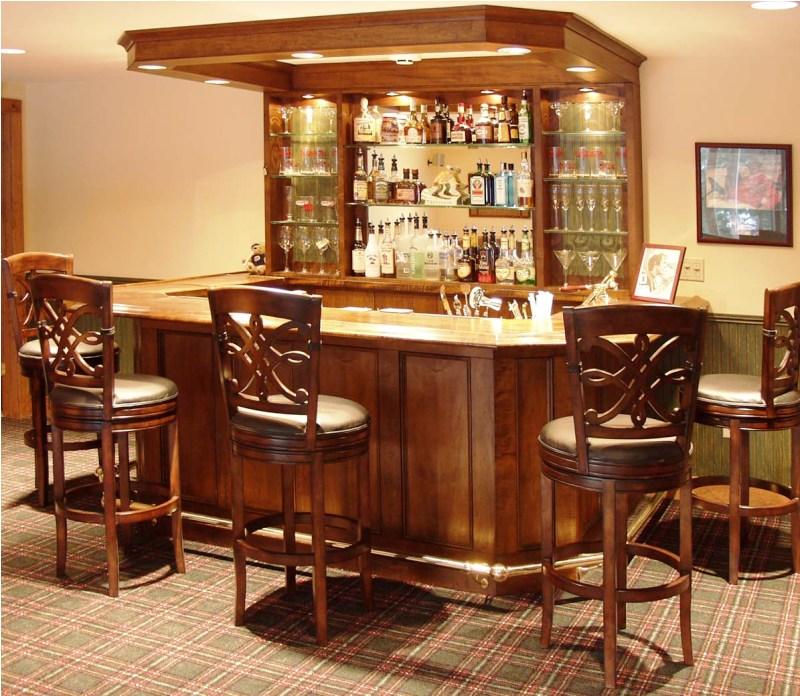 Wooden Mini Bar Furniture