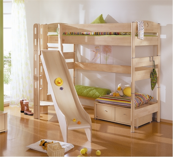 16 Cool Kids Room Design With Play Beds